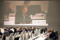 "Illustration of ""Participation of Johannes Hahn, Member of the EC, at the Informal Council meeting on Cohesion policy and..."