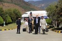 "Illustration of ""Visit of Andris Piebalgs, Member of the EC, to Bhutan"""