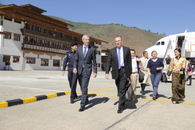 Visit of Andris Piebalgs, Member of the EC, to Bhutan
