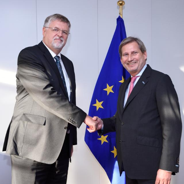Visit of Herbert Salber, Designated EU Special Representative for the South Caucasus and for the crisis in Georgia, to the EC