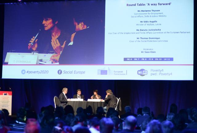Participation of Marianne Thyssen, Member of the EC, at the 4th Annual Convention of the European Platform against Poverty and Social Exclusion