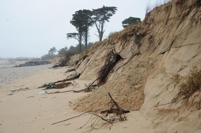Tempêtes sur les côtes du Royaume-Uni et de la France