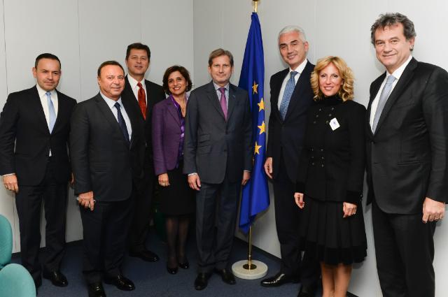 Visite d'Haluk Dinçer, président de la Tüsiad, à la CE