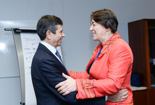 Visit of Maurizio Lupi, Italian Minister for Infrastructure and Transport, to the EC