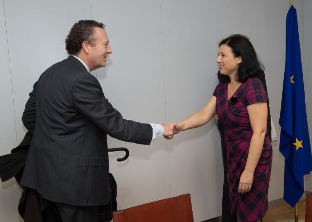 Visit of Kelly R. Welsh, General Counsel of the U.S. Department of Commerce, to the EC