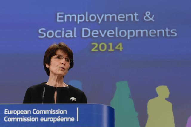Press conference by Marianne Thyssen, Member of the EC, on the 2014 Employment and Social Developments in Europe Review