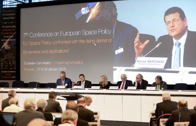 Annual Conference on European space policy 2015