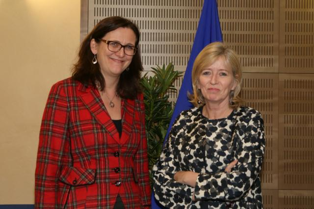 Visit of Emily O'reilly, European Ombudsman, to the EC
