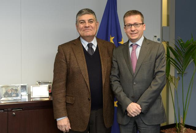 Visit of João Pedro Machado, President of the Confederation of Farmers of Portugal, to the EC