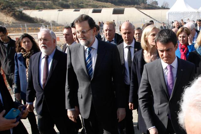 Inauguration of the electricity interconnection between Spain and France at Montesquieu-des-Albères