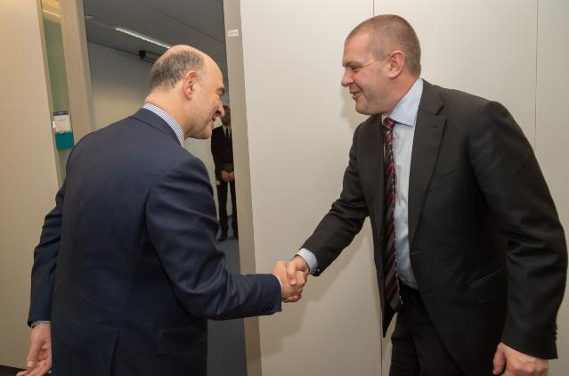 Visit of Bjarne Corydon, Danish Minister for Finance, to the EC