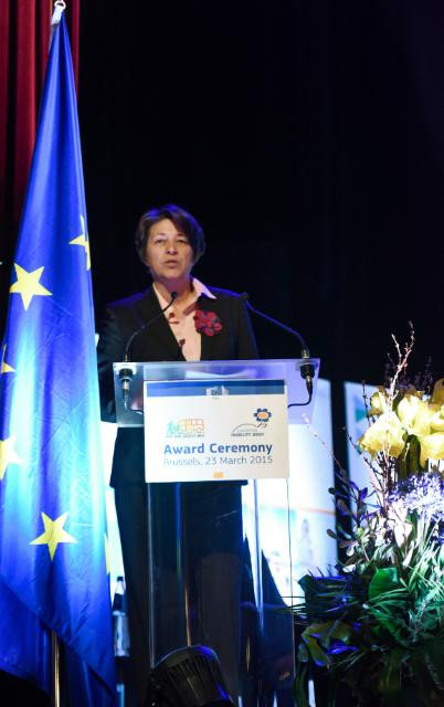 Award Ceremony of the 2014 Sustainable Urban Mobility Plan and the European Mobility Week