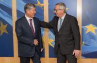 "Illustration of ""Visit of Almazbek Atambayev, President of Kyrgyzstan, to the EC"""