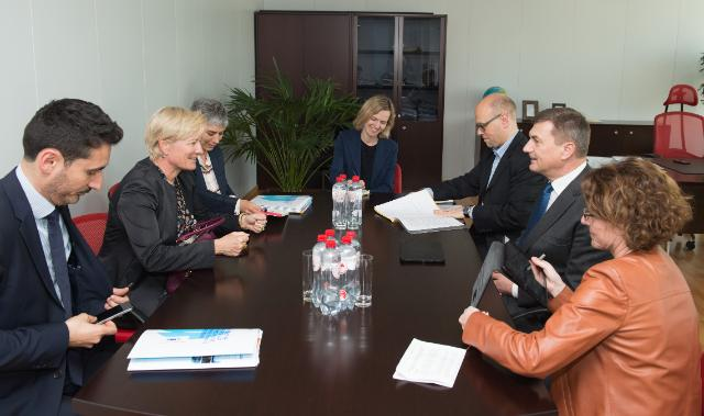 Visit of a delegation from the European Broadcasting Union to the EC