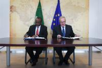 Signature of the programme for building disaster resilience in sub-Saharan Africa by the EC and the AU Commission