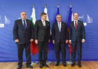 Visit of Robert Fico, Slovak Prime Minister, Bohuslav Sobotka, Czech Prime Minister, and Boyko Borissov, Bulgarian Prime Minister, to the EC
