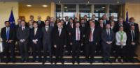 Group photo of the sherpas of Heads of State or Government of the 28 EU Members States, with Martin Selmayr, Head of cabinet of Jean-Claude Juncker