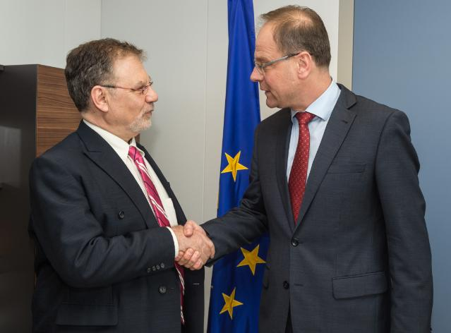 Visit of Joseph Weiler, President of the EUI, to the EC