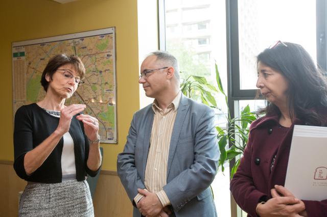 Visit by Marianne Thyssen to Paris