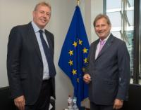 Visit of Kim Darroch, British National Security Advisor, to the EC