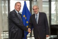 Visit of Kim Darroch, British National Security Advisor, to the EC