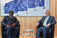 Visit of Michel Kafando, President ad interim of Burkina Faso, to the EC