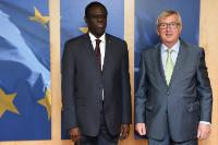 Visit of Michel Kafando, President ad interim of Burkina Faso, to the EC