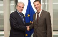 Visite de Wolfgang Jamann, secrétaire général et PDG de CARE International, à la CE