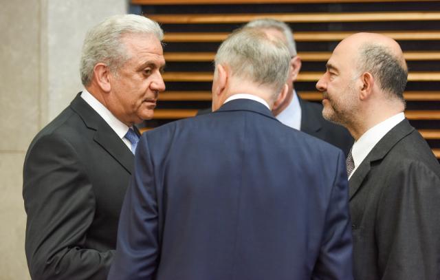 Réunion hebdomadaire du Collège de la Commission Juncker