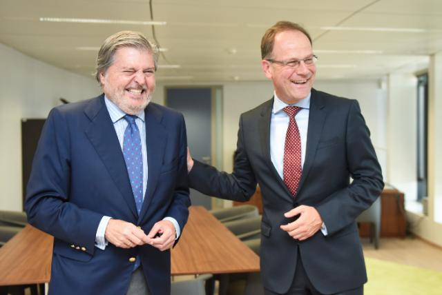 Visit of Iñigo Méndez de Vigo, Spanish Minister for Education, Culture and Sport, to the EC