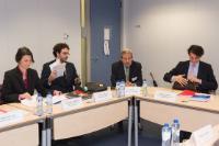 Visite d'une délégation de partenaires sociaux à la CE