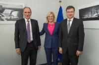 Visit of Giorgos Stathakis, Greek Minister of Economy, Infrastructure, Shipping and Tourism, to the EC