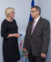 Visit of Nikos Christodoulakis, Greek Minister for Economy, Infrastructure, Shipping and Tourism, to the EC