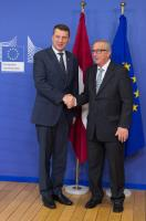 Visit of Raimonds Vējonis, President of Latvia, to the EC