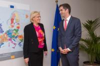 Visit of Kostas Bakoyannis, Governor of the Region of Central Greece, to the EC