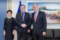 Visit of Giorgi Kvirikashvili, Georgian Vice-Prime Minister and Minister for Foreign Affairs, and Tea Tsulukiani, Georgian Minister for Justice, to the EC