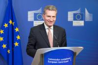 Joint press conference by Günther Oettinger, Member of the EC, and Alexander Dobrindt, German Federal Minister for Transport and Digital Infrastructure, on the expansion of broadband infrastructures