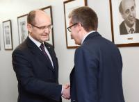 Visit of Adrian Curaj, Romanian Minister for Education and Scientific Research, to the EC