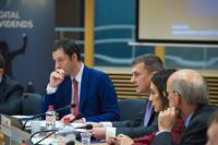 Participation of Andrus Ansip, Vice-President of the EC, in the presentation of the World Development Report 2016