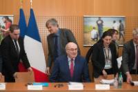 Visit of Phil Hogan, Member of the EC, to Paris, France
