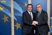 Visite de Günther Platter, gouverneur du Tyrol, à la CE