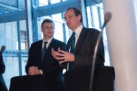 Visit by Valdis Dombrovskis, Vice-President of the EC, to Berlin