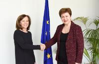 Visit of Margarida Marques, Portuguese Secretary of State for European Affairs, to the EC