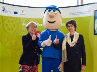 Joint press conference by Marianne Thyssen, Member of the EC, and Christa Sedlatschek, Director of the European Agency for Safety and Health at Work (EU-OSHA), on the launch of the