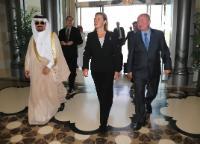 Visit of Federica Mogherini, Vice-President of the EC, to Saudi Arabia