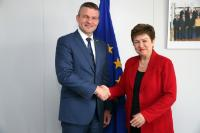 Visit of Peter Pellegrini, Slovak Deputy Prime Minister for Investments, to the EC