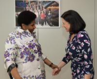 Visit of Phumzile Mlambo-Ngcuka, Under-Secretary-General of the United Nations and Executive Director of UN Women to the EC