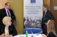 Visit of Johannes Hahn and Elżbieta Bieńkowska, Members of the EC, to Ukraine