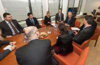 Participation de Dimitris Avramopoulos, membre de la CE, à la réunion ministérielle quadripartite sur la  réciprocité des visas