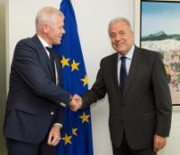 Visite de Rob Bertholee, chef du Service général de sécurité du renseignement et de la sécurité néerlandais, à la CE